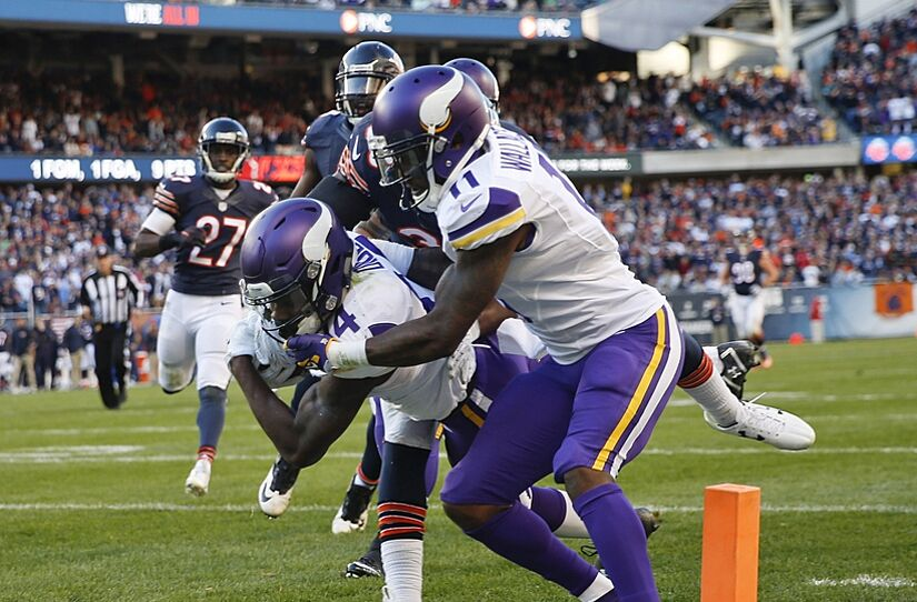 Stefon Diggs nominated for Pepsi Rookie of the Week