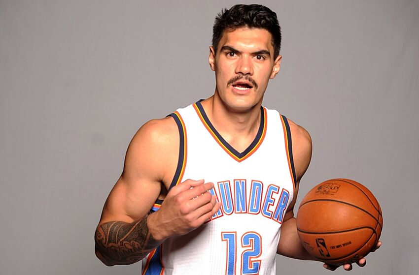 Steven adams gets new ink barely anyone notices for Tattoo shops okc