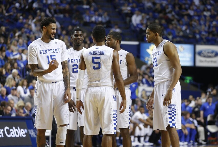 Kentucky Basketball Wildcats Have Two Usa Today: Kentucky Wildcats Basketball: Wildcats Ranked Second By