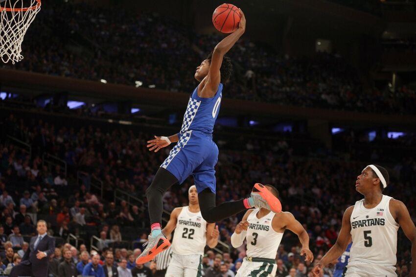Kentucky Basketball Fox Named Sec Freshman Of The Week