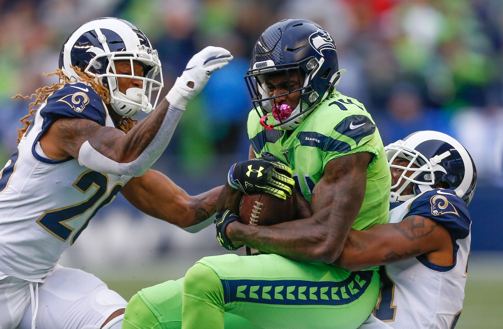 Seahawks injuries will affect the outcome versus Rams week 14