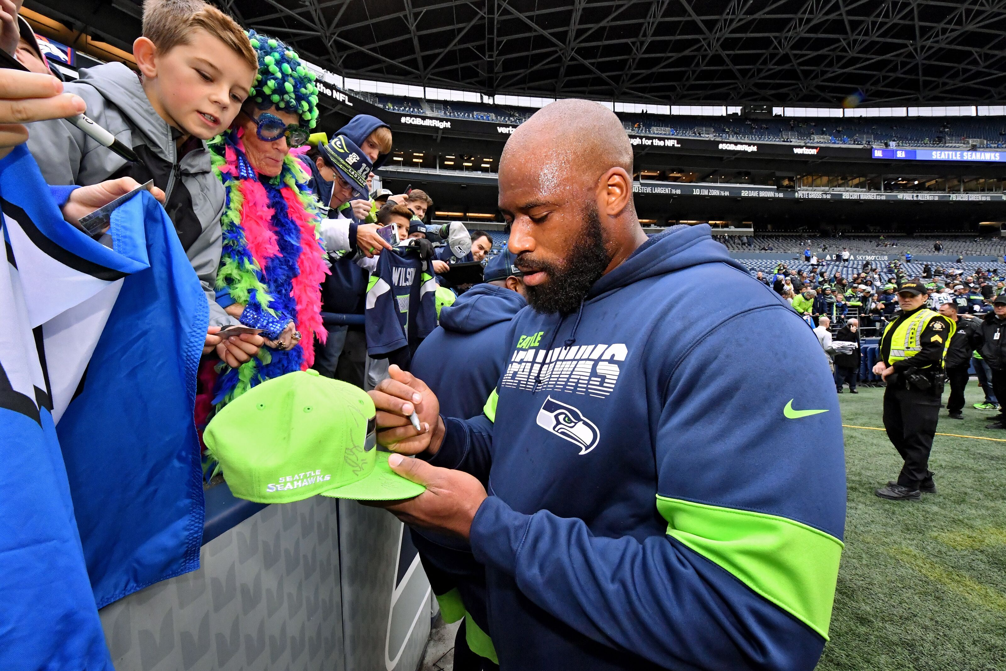 Seahawks MVP for game 12: the unsung hero George Fant