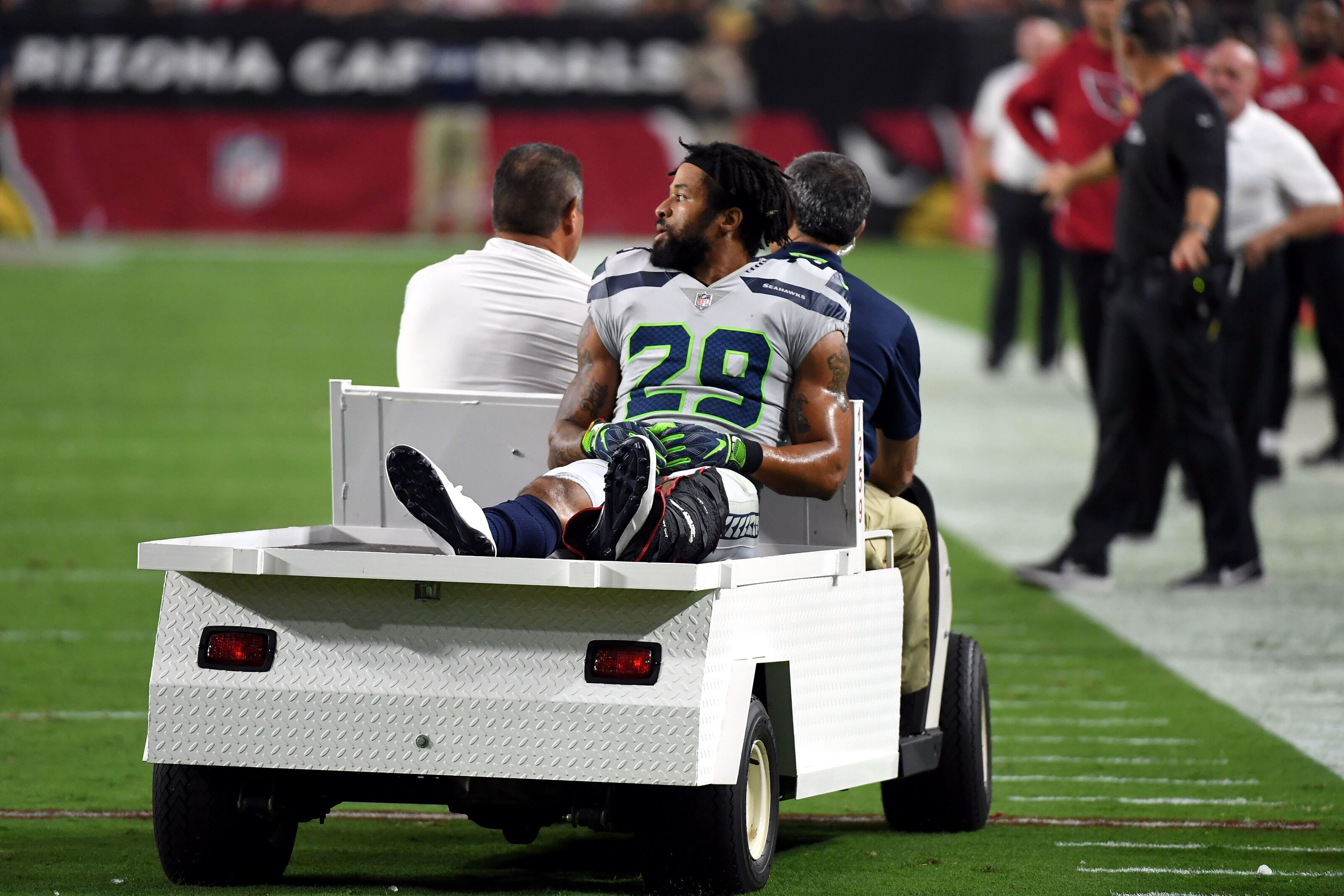 Seahawks safety Earl Thomas takes action but who cares?