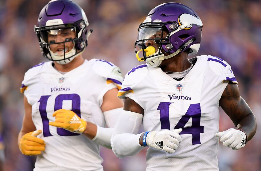 d55f0a17 Seahawks secondary faces big challenge in Vikings Thielen and Diggs