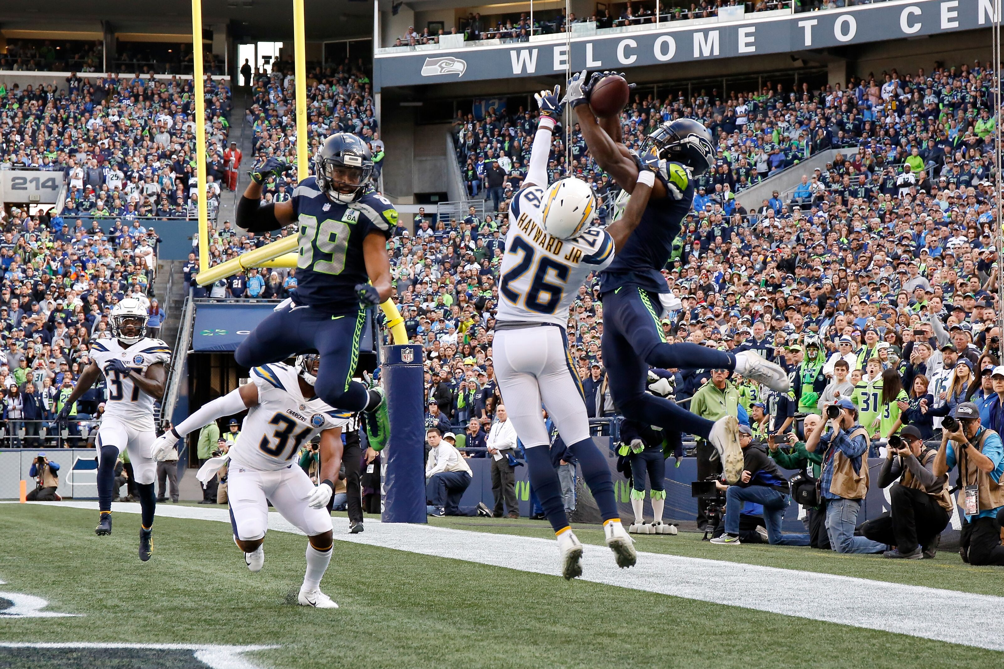 Seahawks: Jaron Brown is balling out in a big way