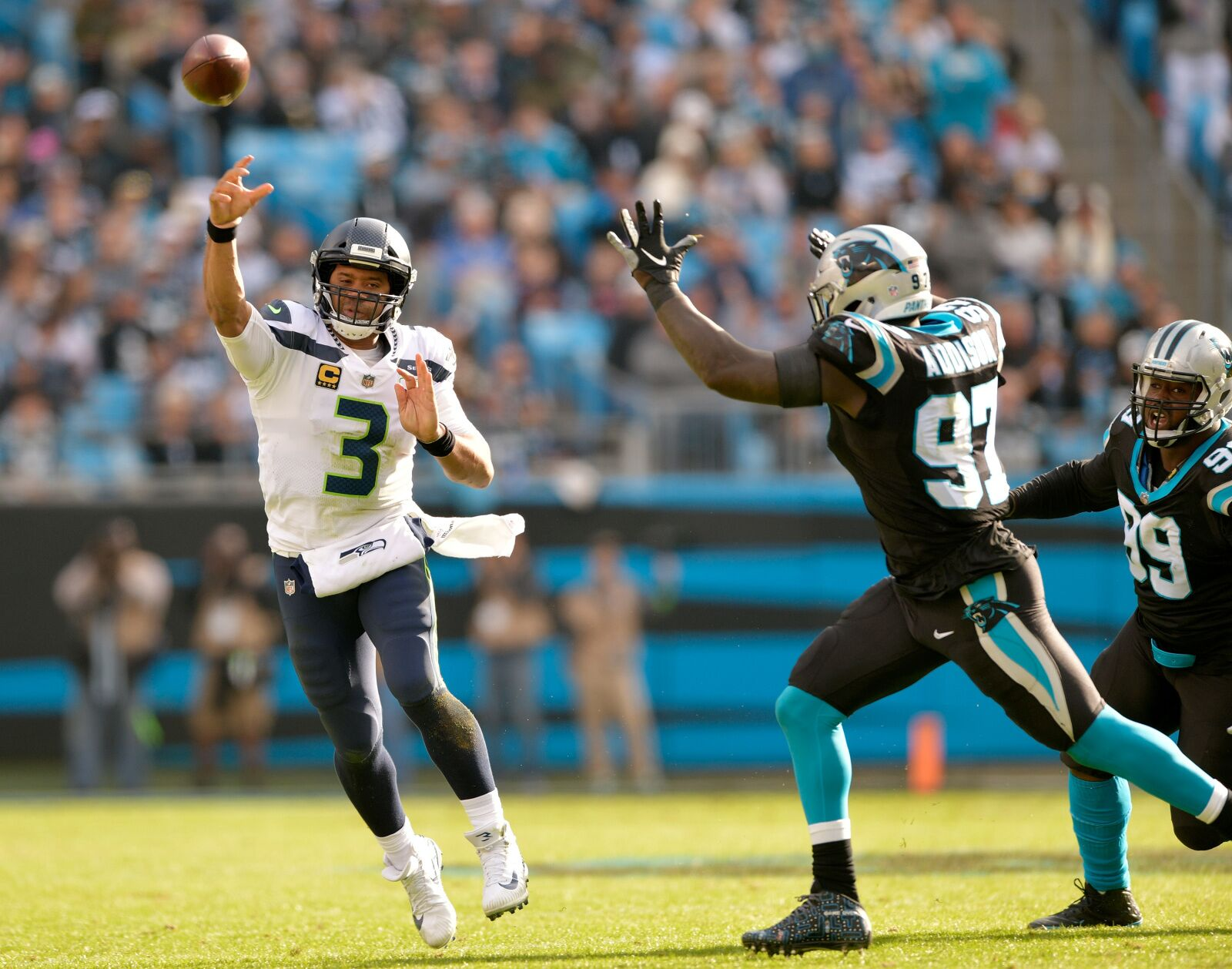 Seahawks versus Panthers: Our staff would be shocked with a Seattle loss