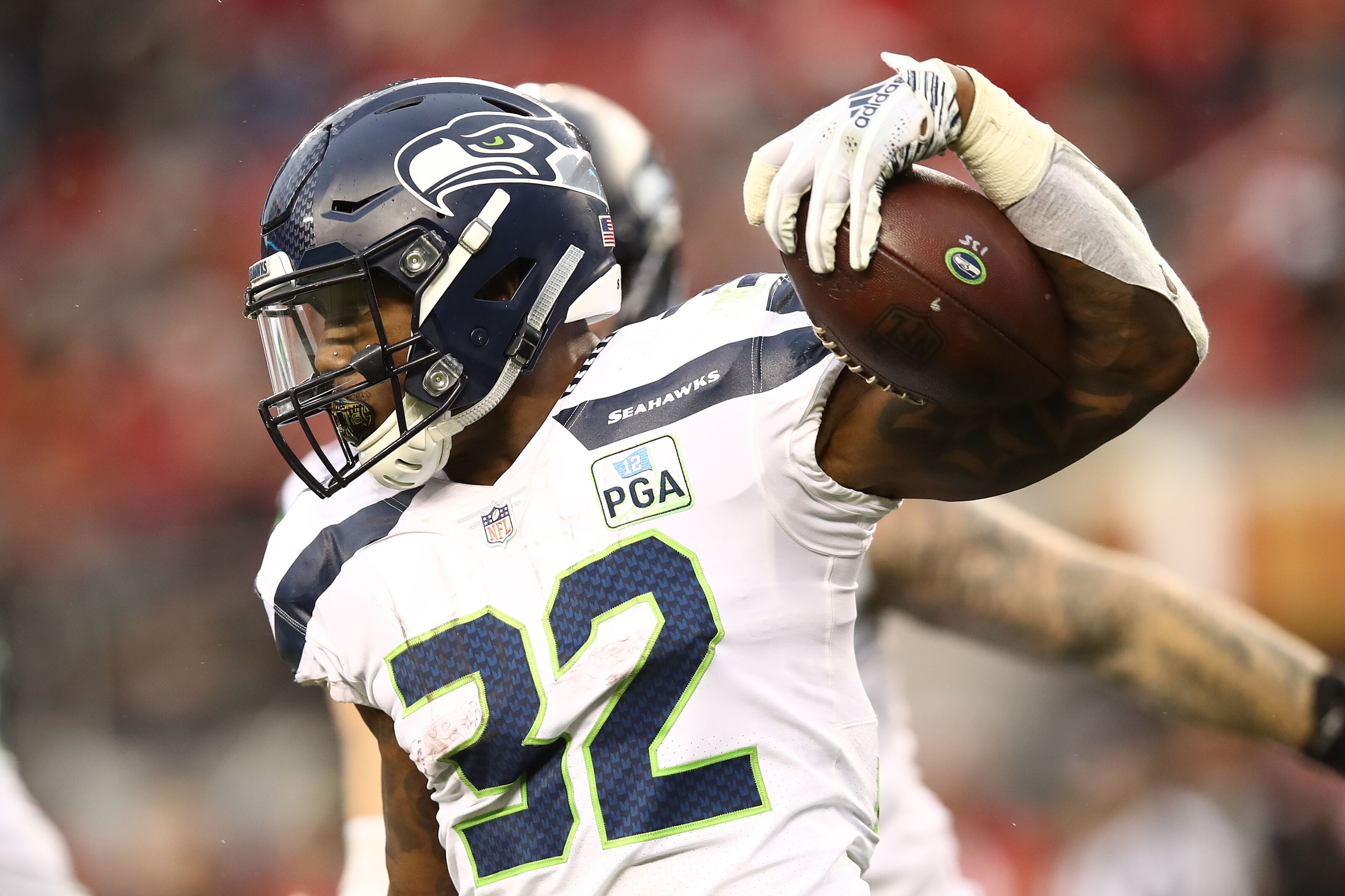 the latest 10398 0f3f6 Chris Carson will be a complete freak for the Seahawks in 2019