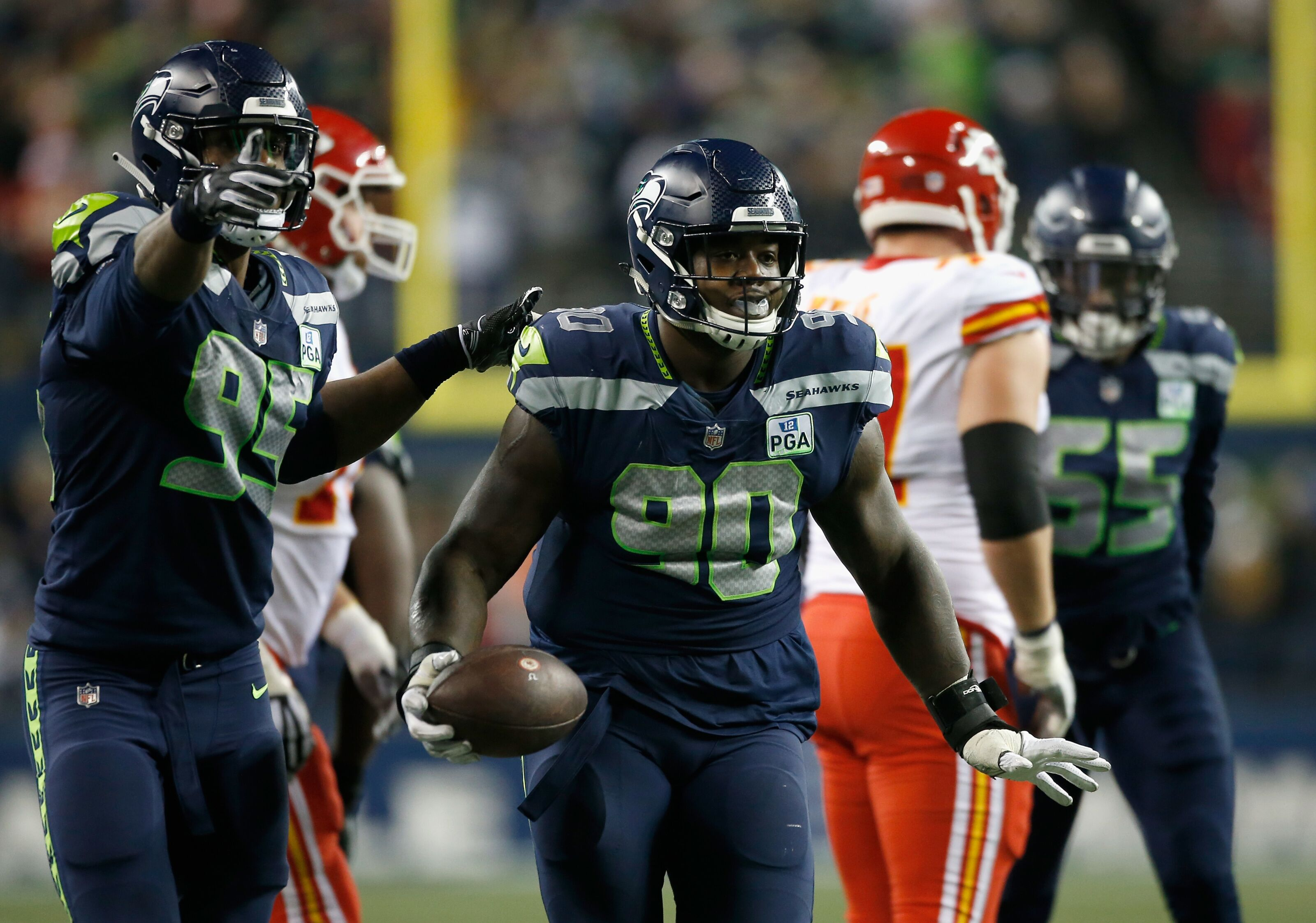 bce2530e2 100 days of Seahawks: Jarran Reed will be Seattle's best number 90 ever