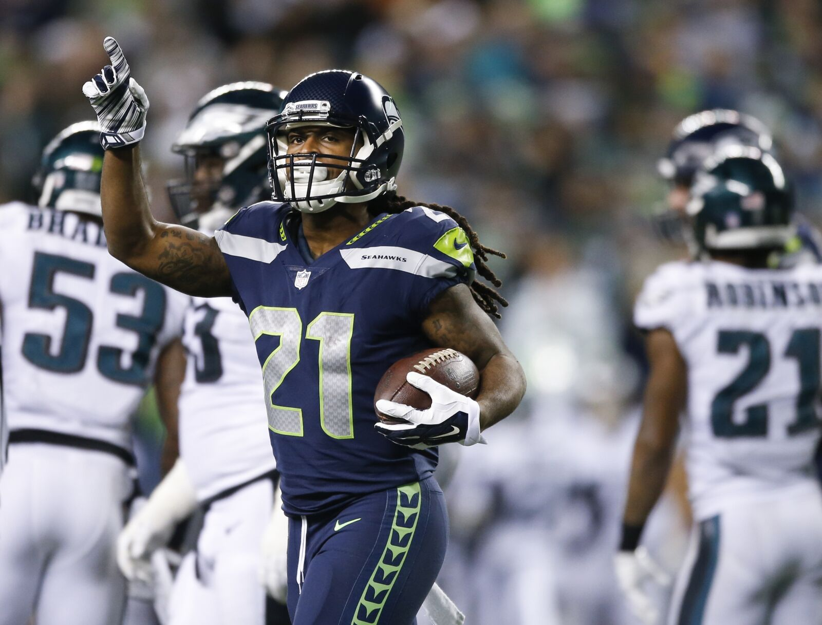 eb2f42cdff3 Seahawks should say hello to J.D. McKissic and goodbye to C.J. Prosise