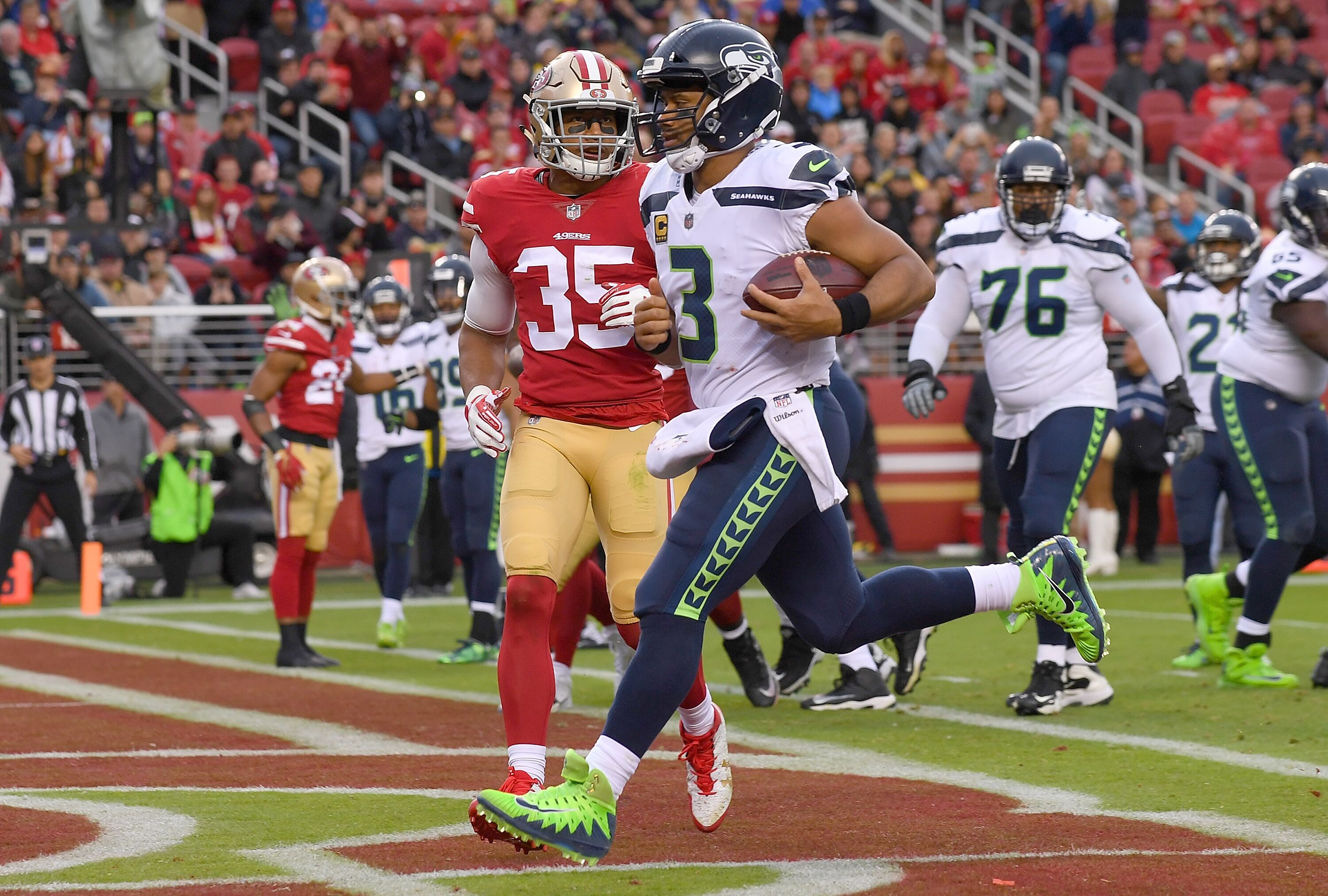 Russell Wilson to Dan Patrick: about that nasty Niners defense - 12th Man Rising