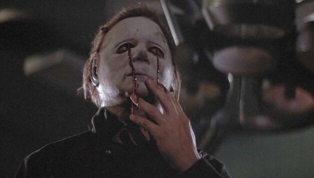 Halloween 5 michael myers unmasked