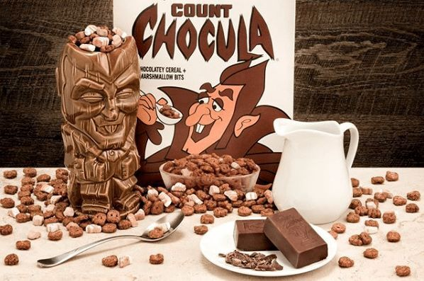 Count Chocula and cereal monster friends to get tiki mugs