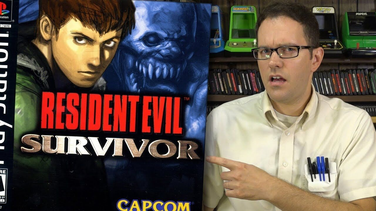 Resident Evil - The Angry Video Game Nerd REAL REVIEW ...