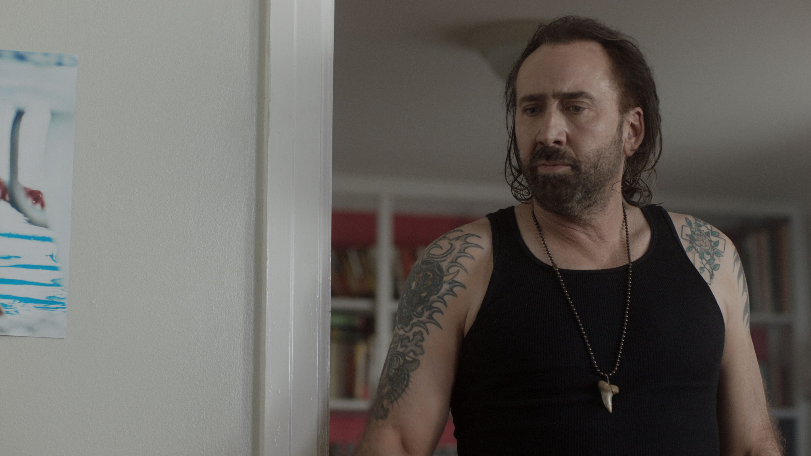 Between Worlds: A horror thriller for Moms starring Nicolas Cage