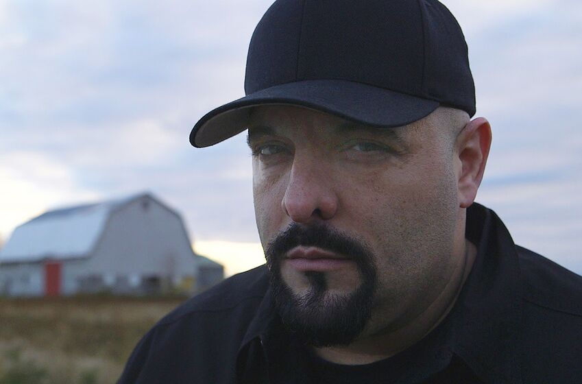 "Paranormal Investigator and documentary filmmaker Steve Shippy confronts entities disturbing Midwestern towns in the new series ""Haunting in the Heartland"".. Image Courtesy Travel Channel"