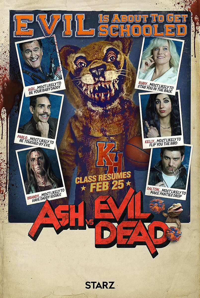 ash vs evil dead living large everywhere at nycc 2017