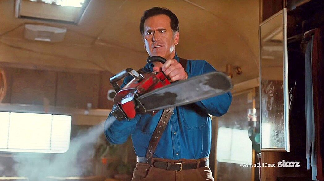 Bruce Campbell Chainsaw