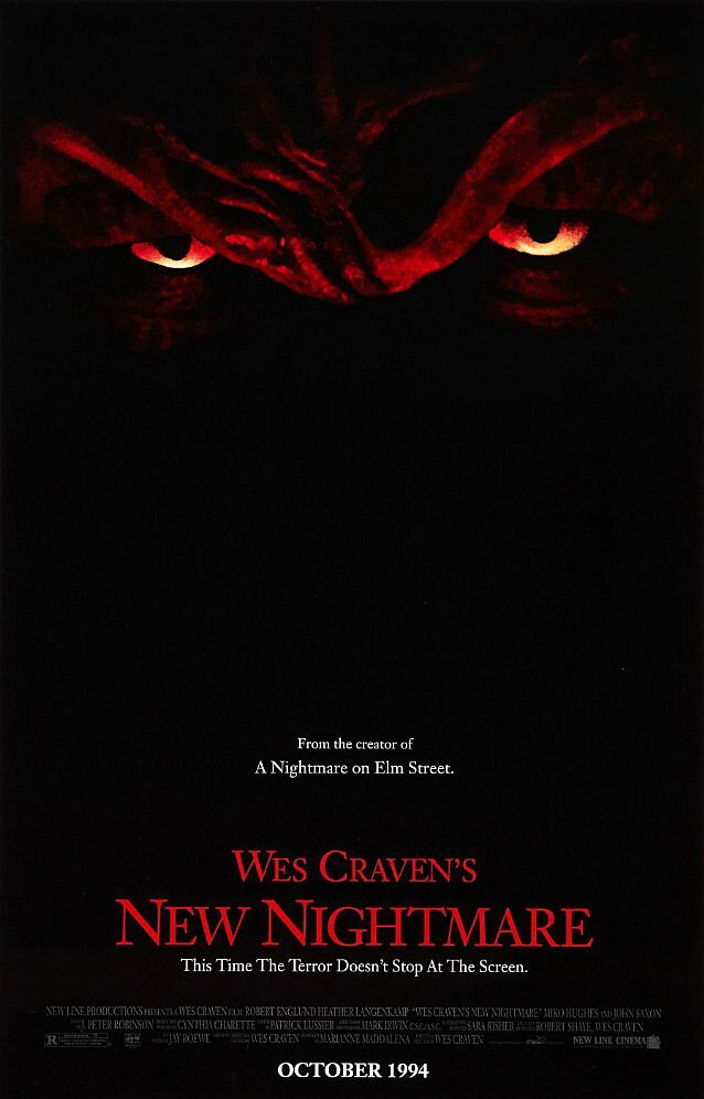31 Days of Halloween: Wake yourself up with a New Nightmare (1994)