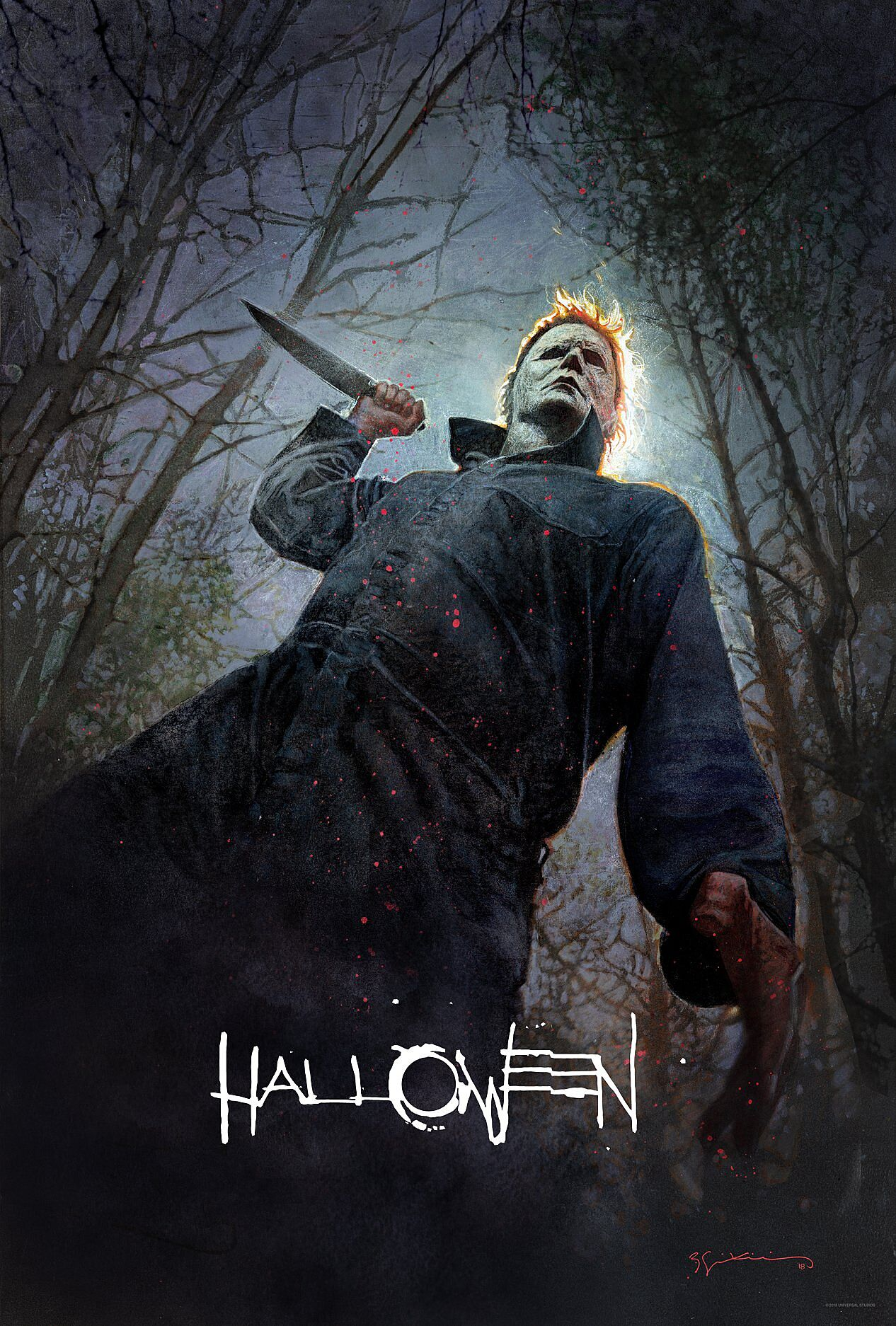 Halloween 2018 Fan Poster.Halloween 2018 Creep Out With New San Diego Comic Con Poster