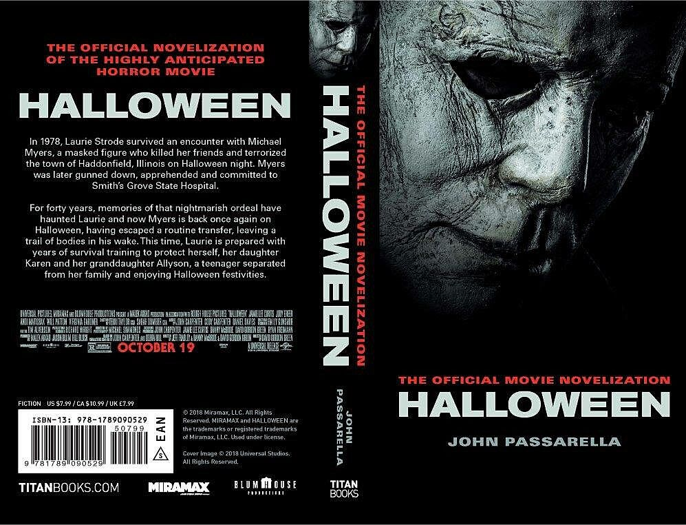 Halloween 2018 official novelization now up for pre-order