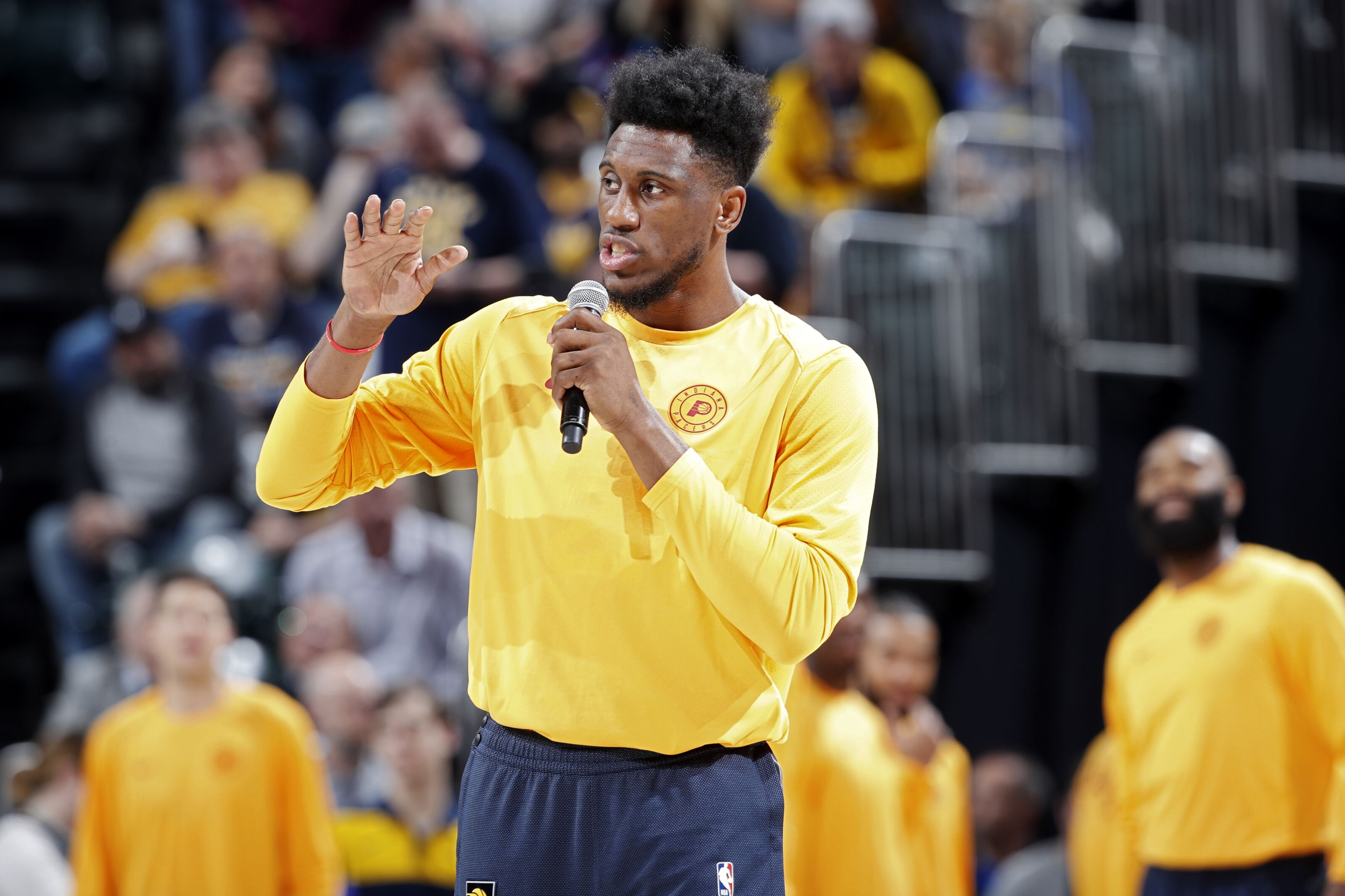 Who will take over as the veteran leader for the Indiana Pacers?