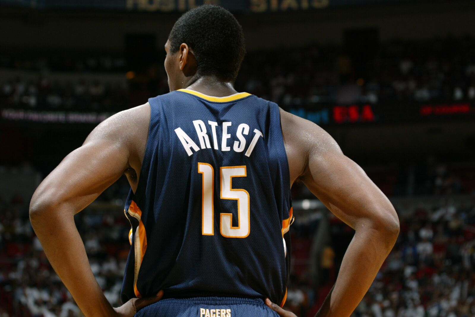 sale retailer 73fb9 70f09 Metta World Peace claims the Pacers are going to the ...