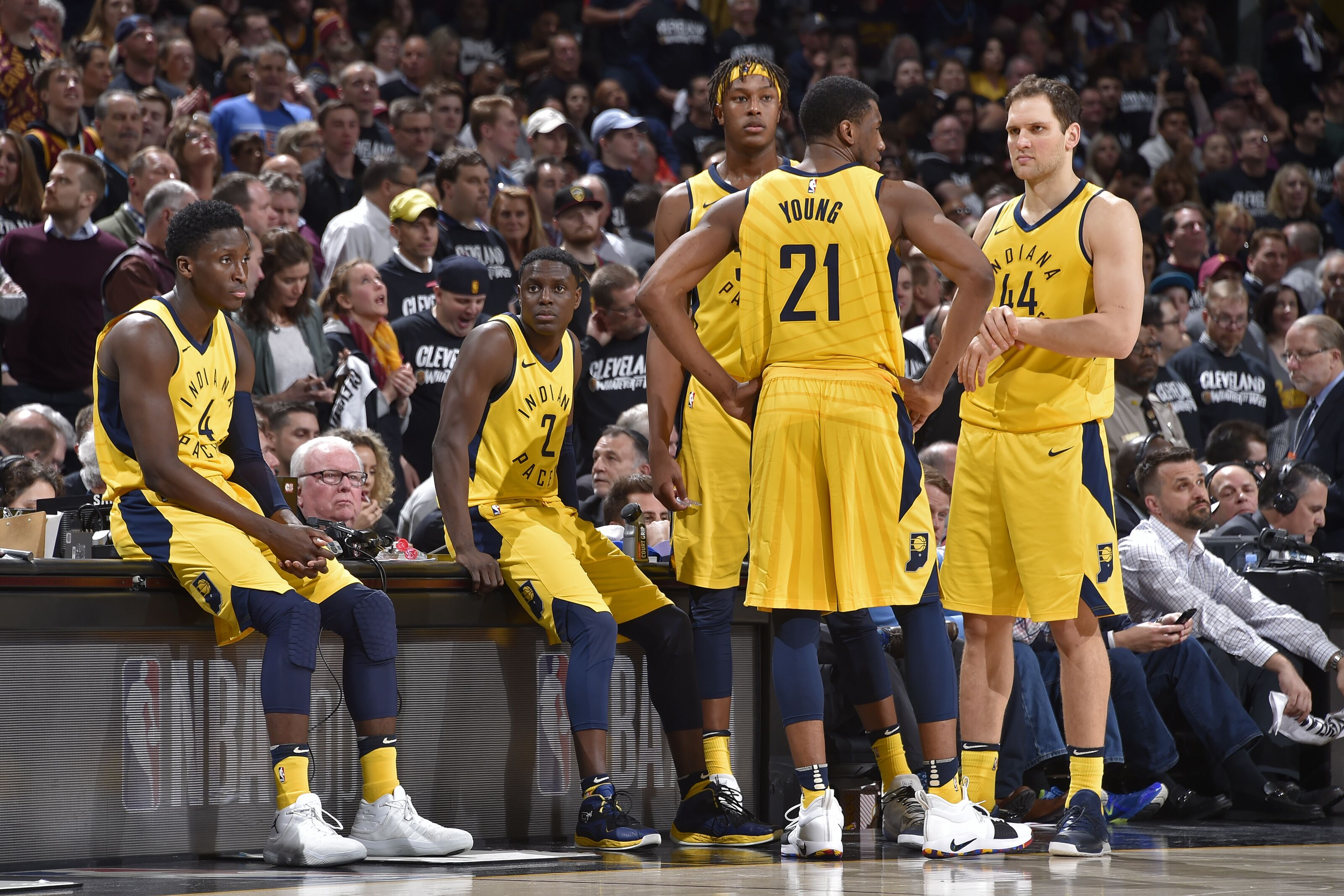 The Indiana Pacers starters ratings in NBA 2K19 are interesting
