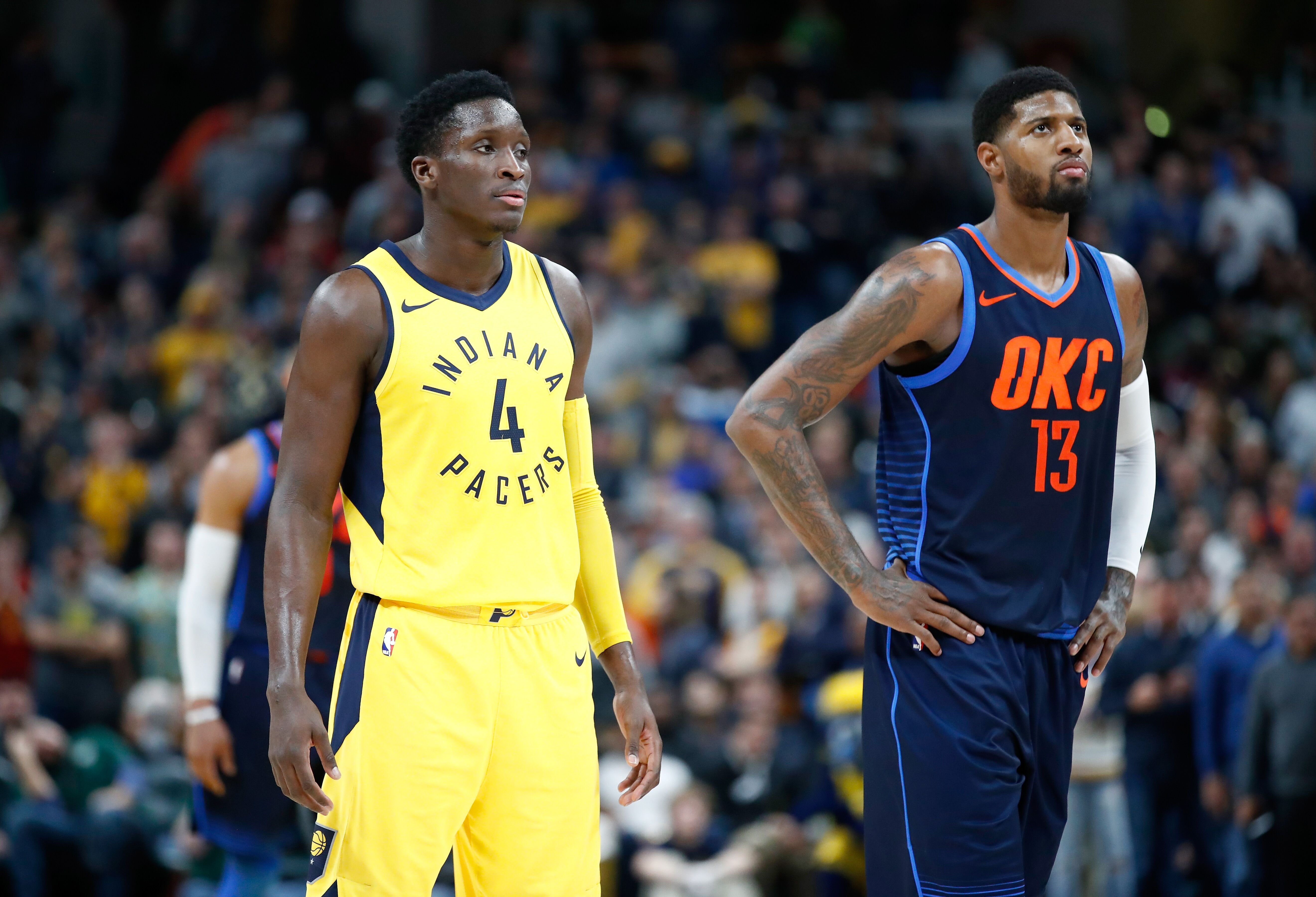 eced2723d Pacers Anniversary  The Paul George trade