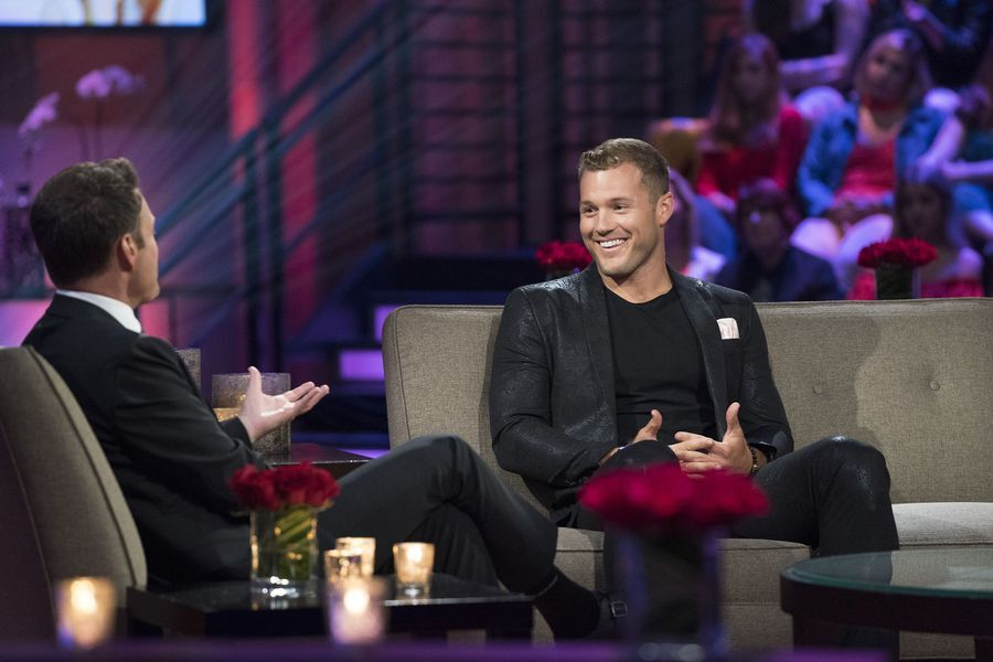 Colton may get bleeped during The Bachelorette Men Tell All