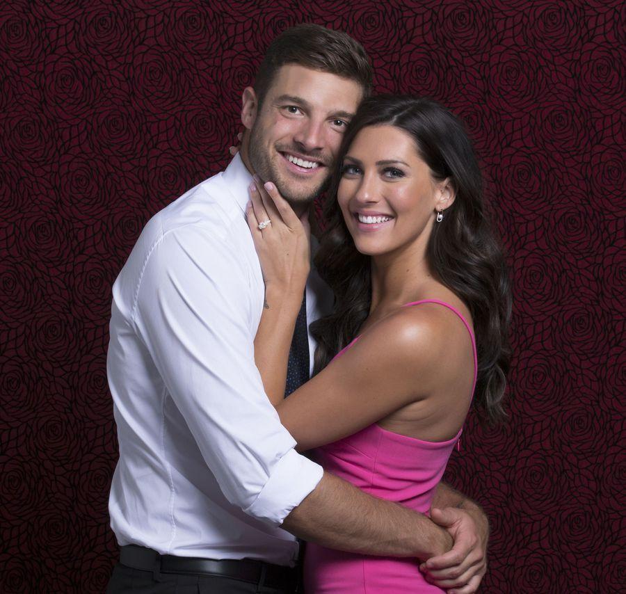 Bachelorette Becca says she's still getting to know Garrett, not making wedding plans