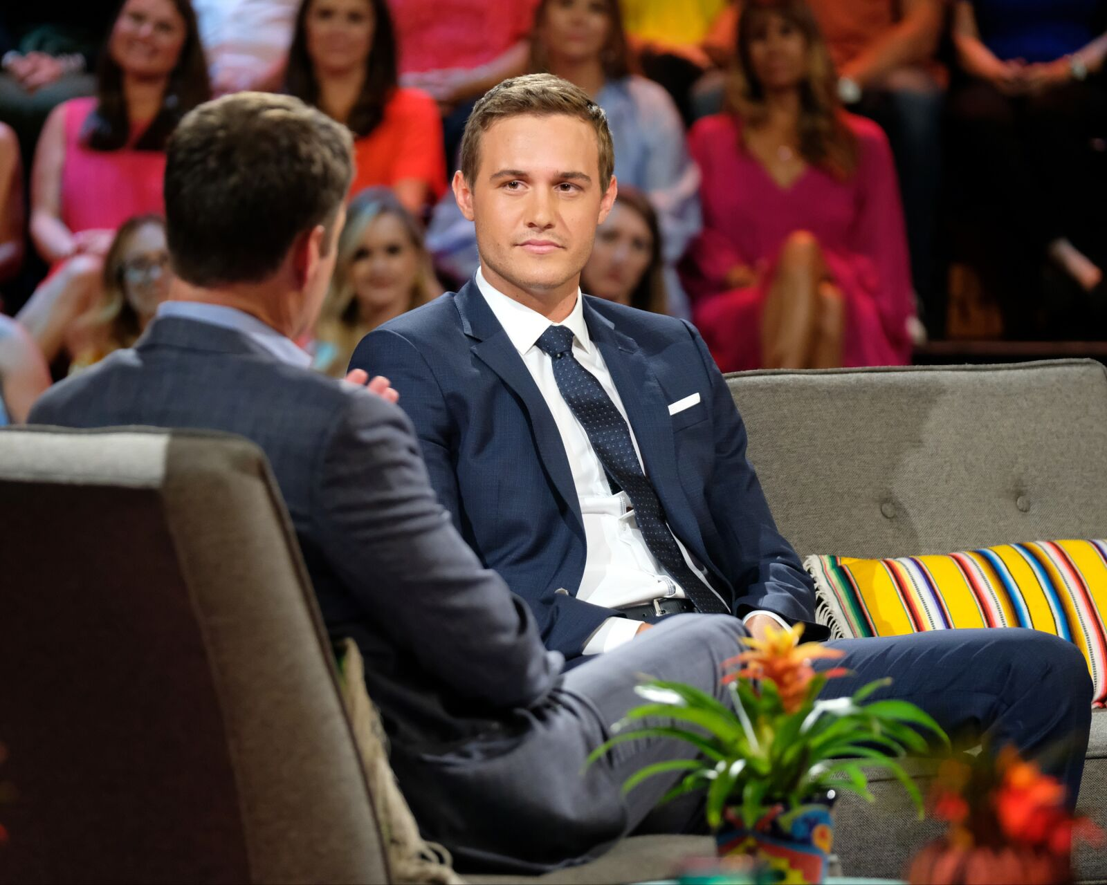 The Bachelor: Peter Weber has an accident on set