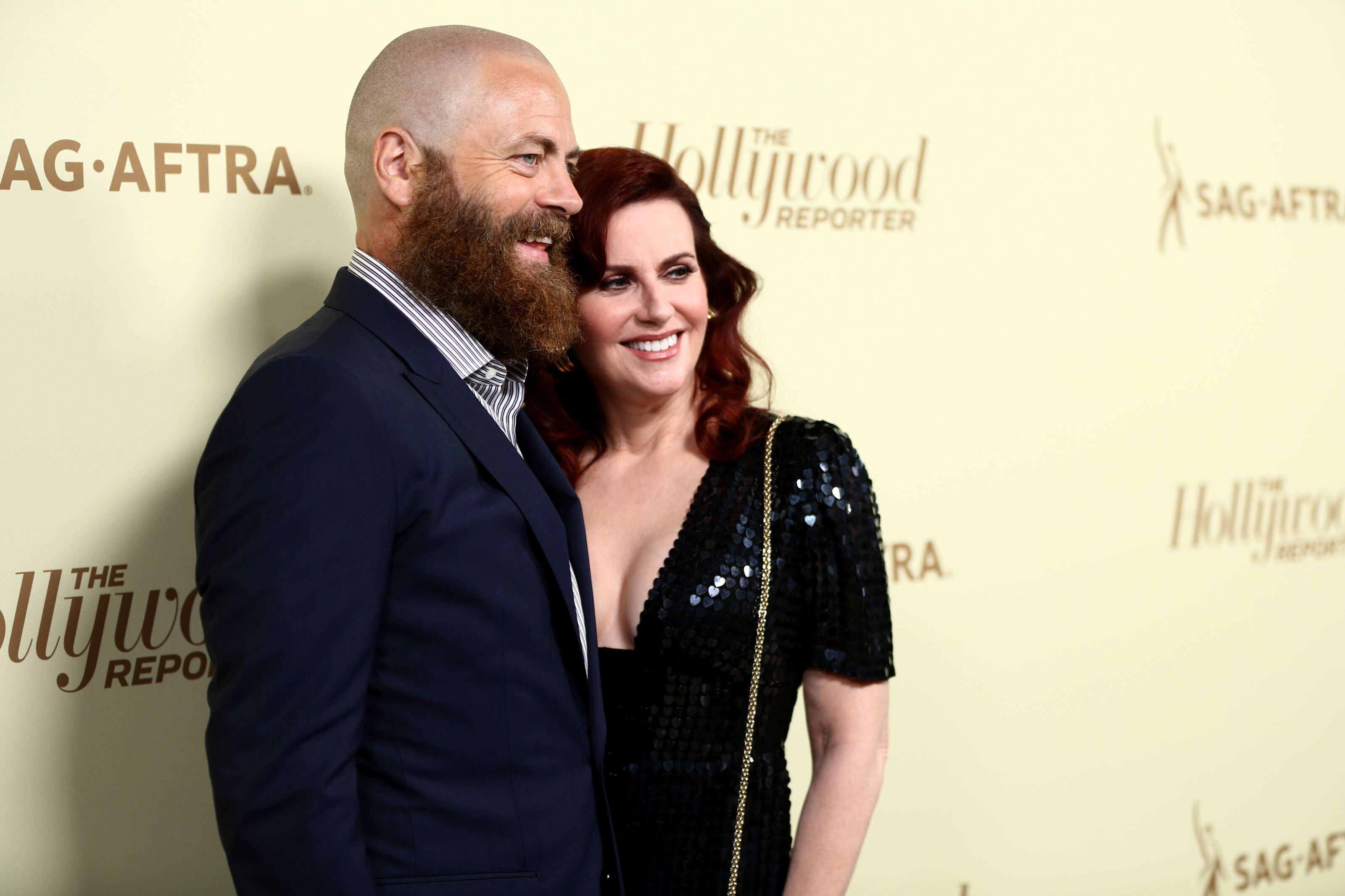 Megan Mullally Nick Offerman To Appear On The Bachelor
