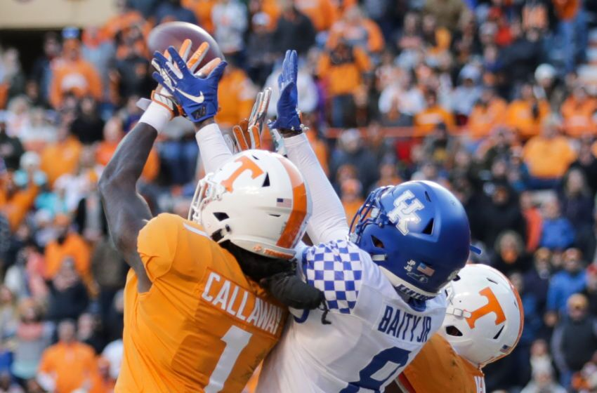 Uk Basketball: Tennessee Football: Photo Gallery From Vols Upset Win Vs