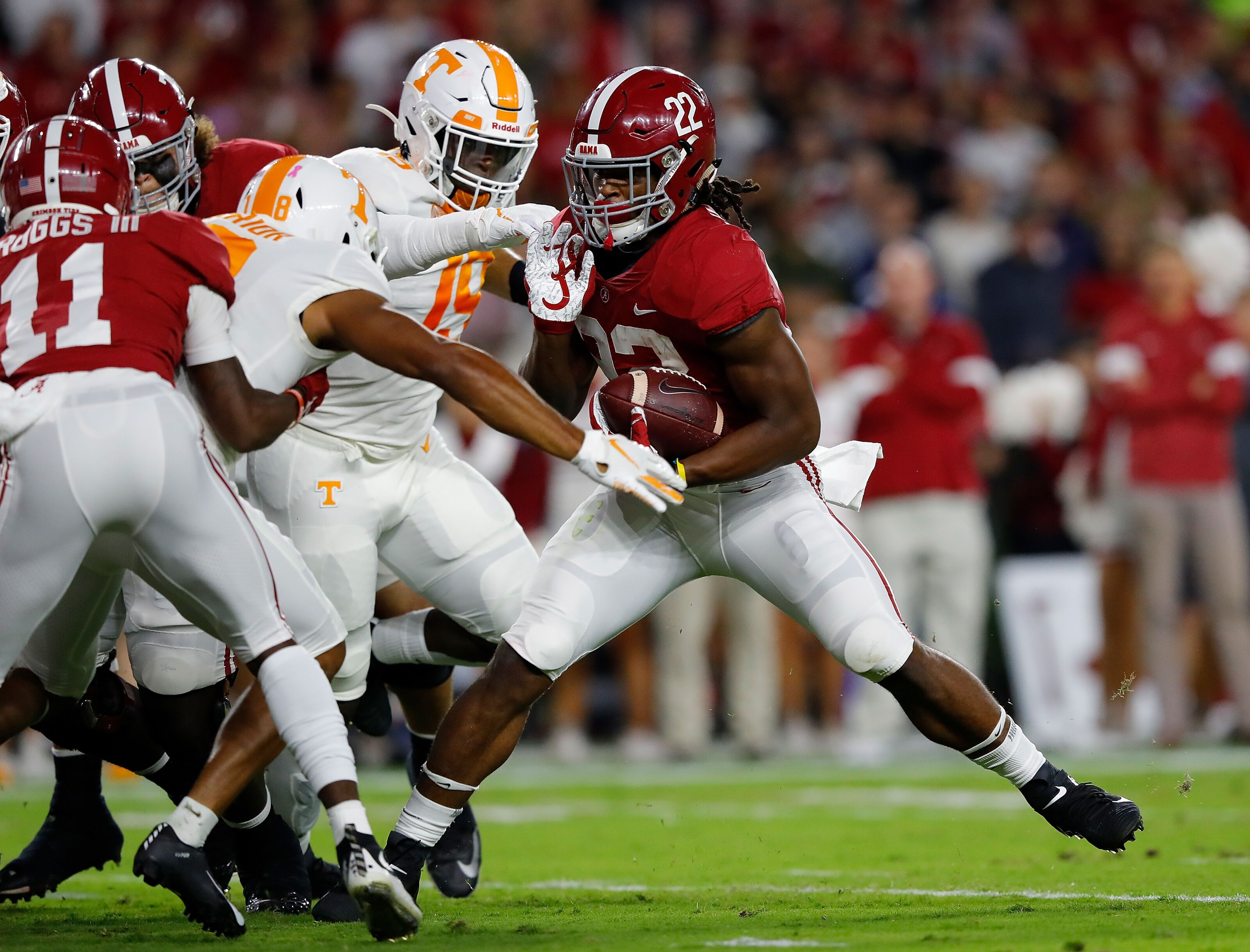 Tennessee football: Photo gallery from Vols 35-13 loss at Alabama