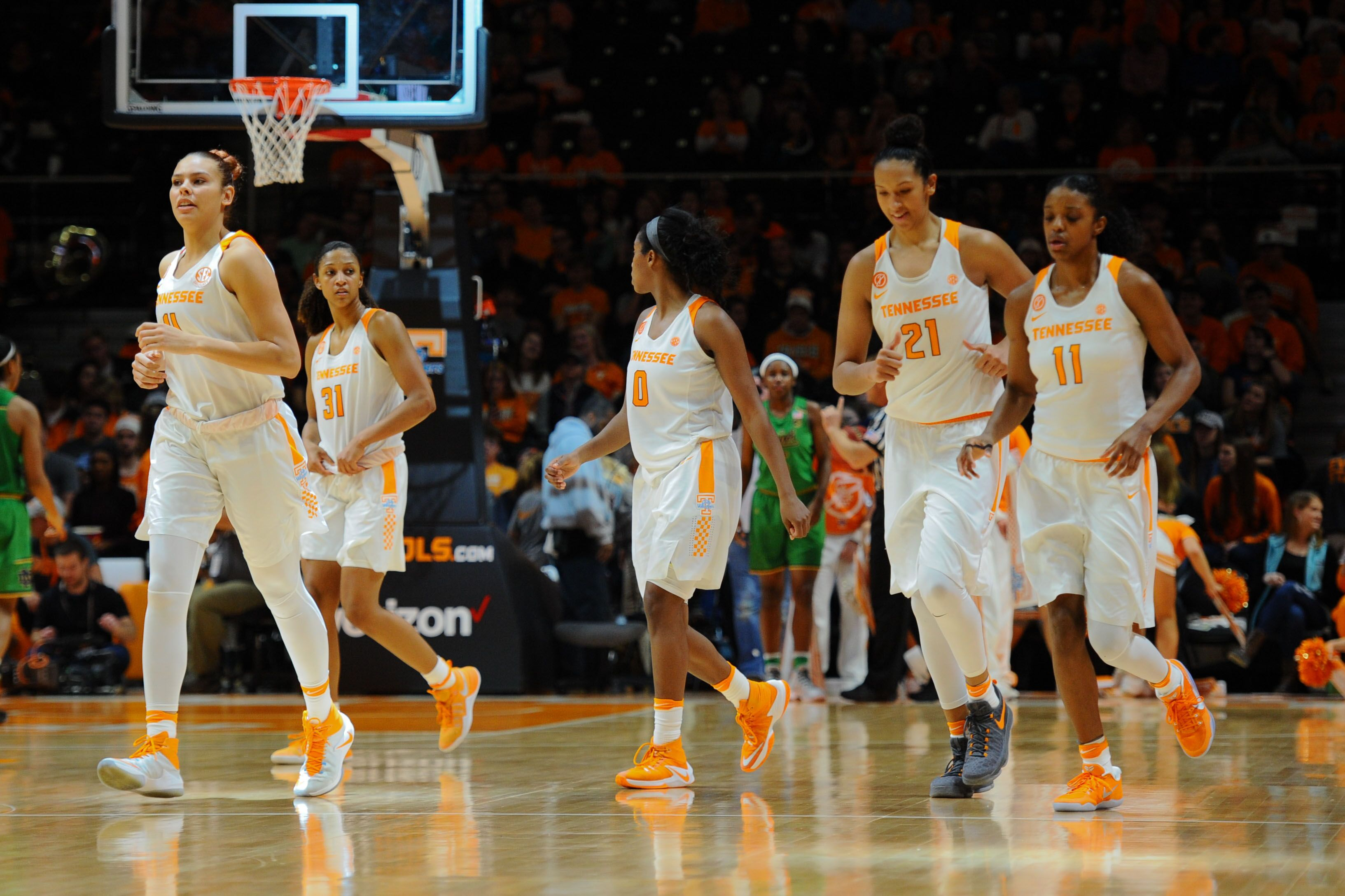 Three Tennessee Lady Vols Earn All-SEC Honors