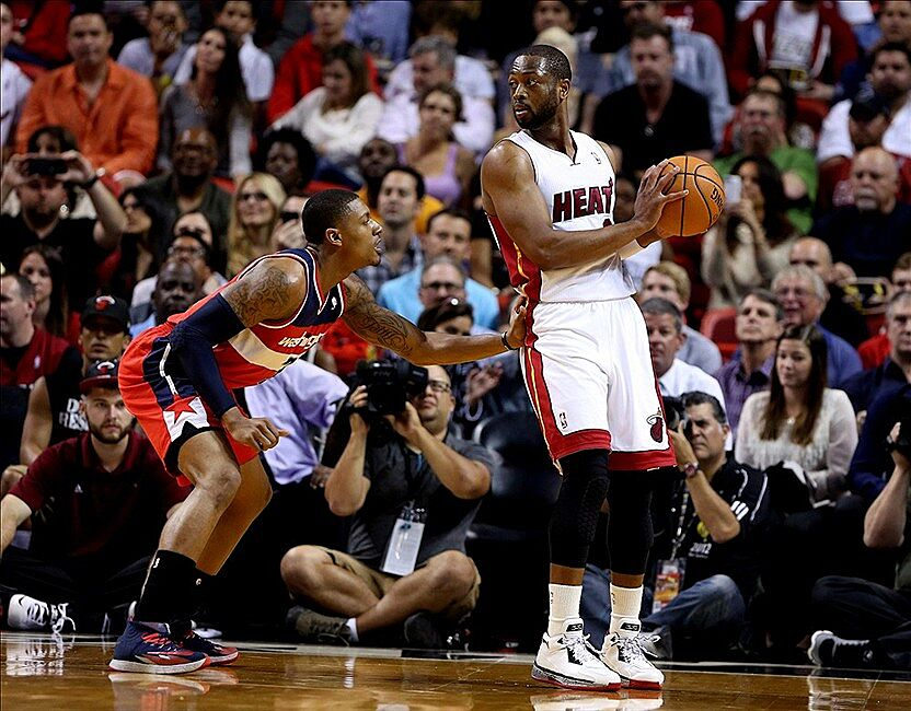 Wizards At Heat Final Score: Wade Shines, Heat Win 99-90