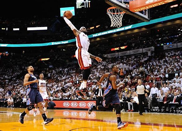 Apr 23 2014 Miami FL USA Heat Forward LeBron James
