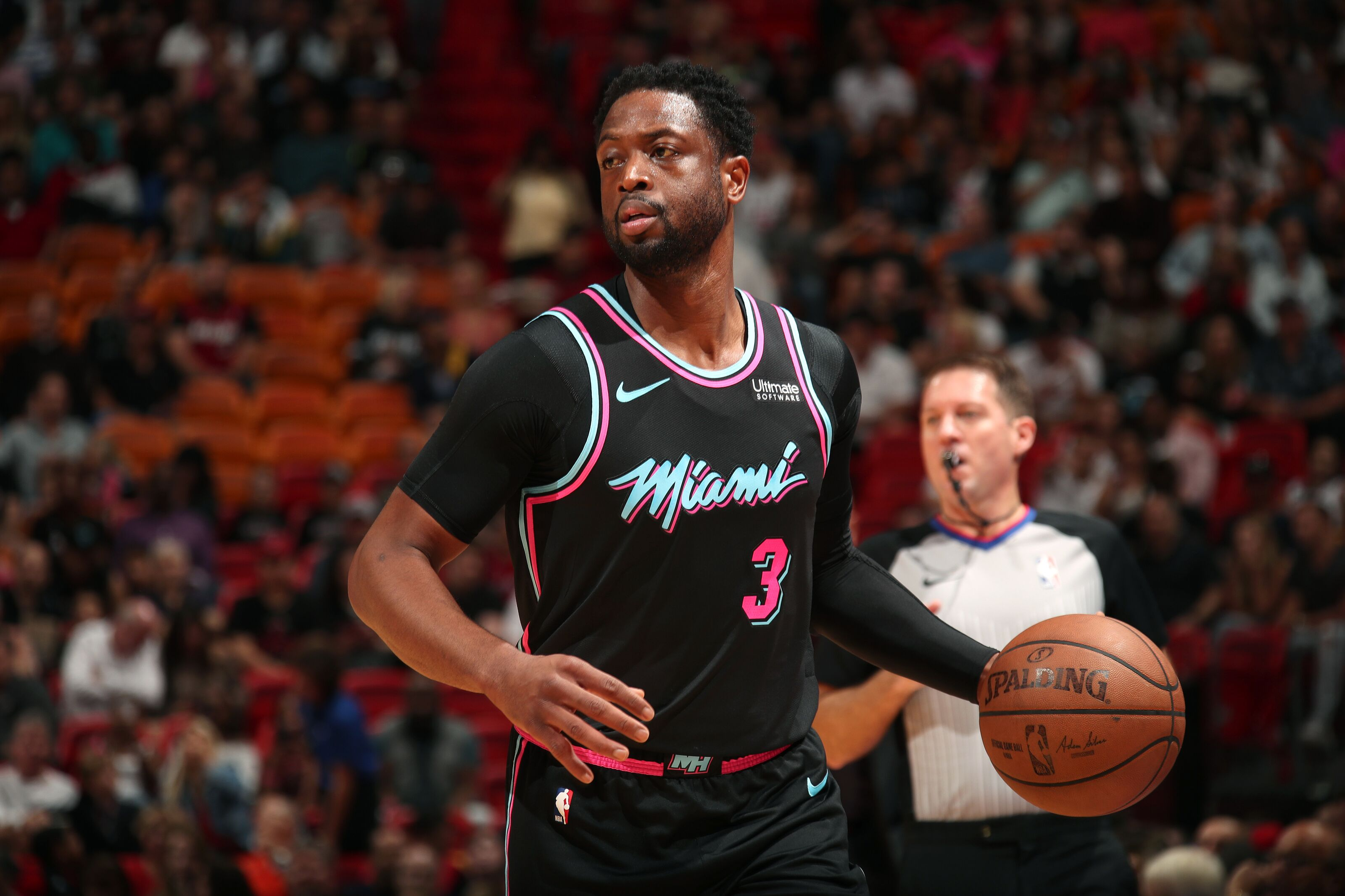 ad7905db0 Miami Heat  Would Dwyane Wade consider holding off retirement