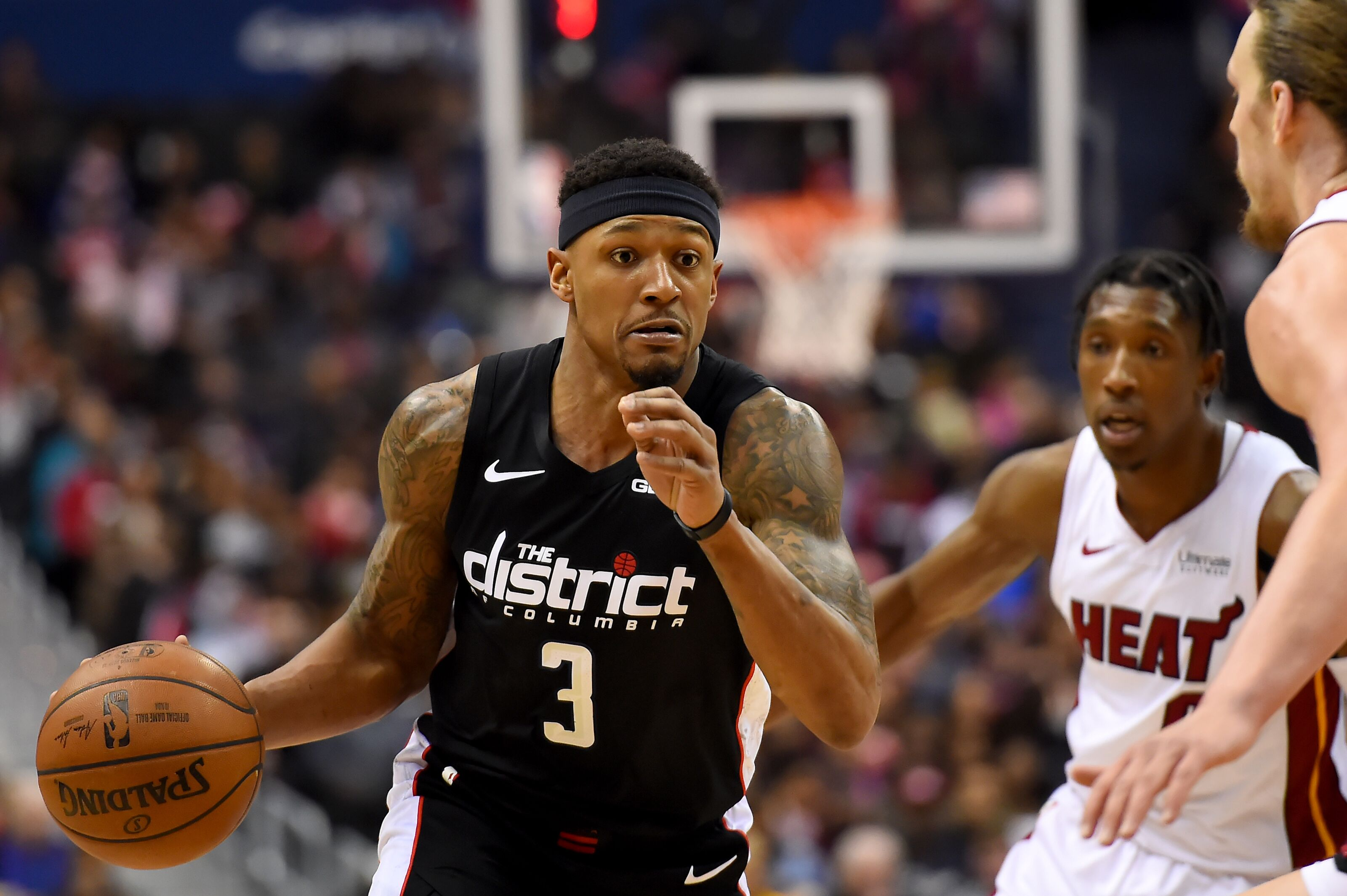The Miami Heat want another star and a disgruntled Bradley Beal may be a trade target