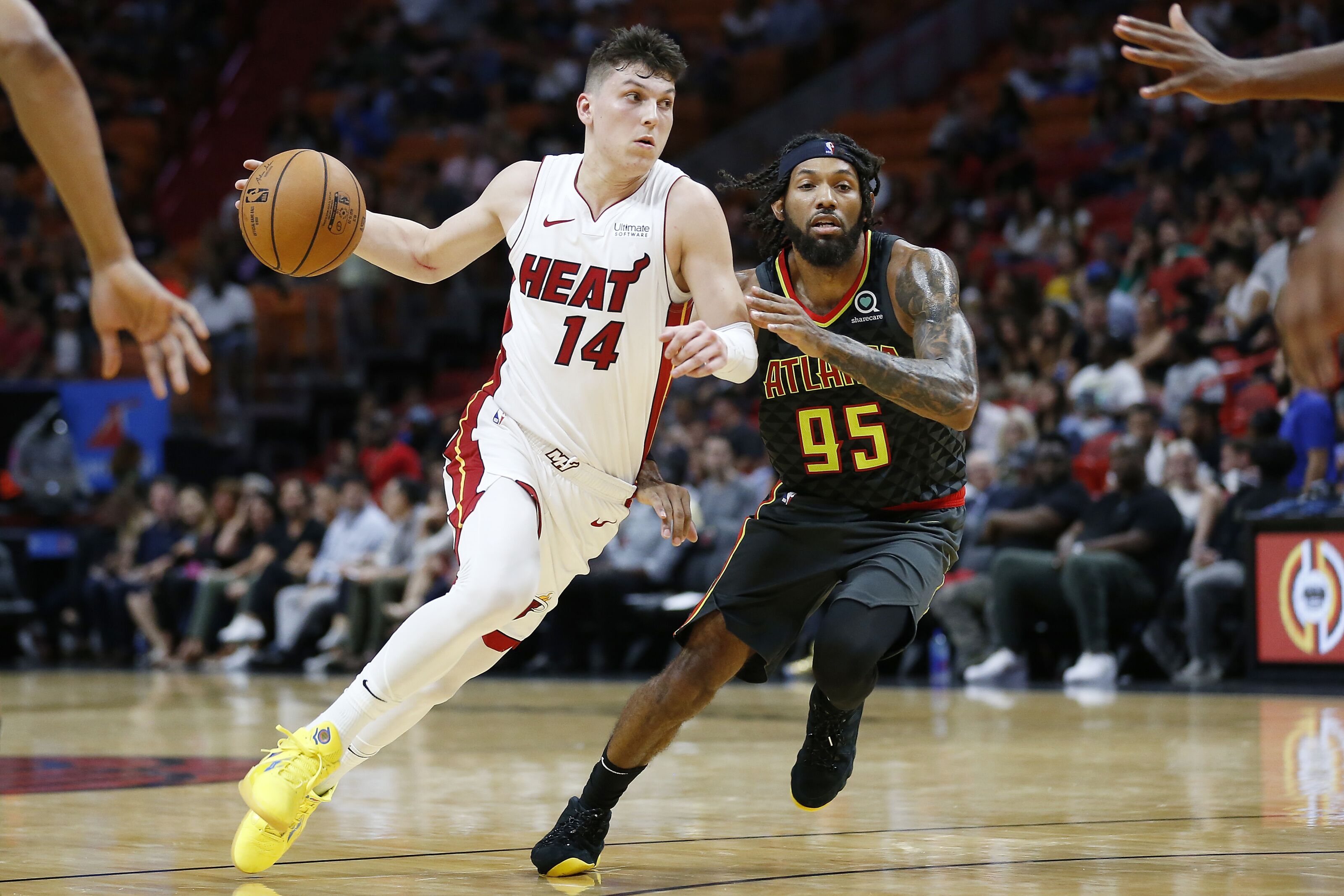 Miami Heat: Training camp battle at starting shooting guard