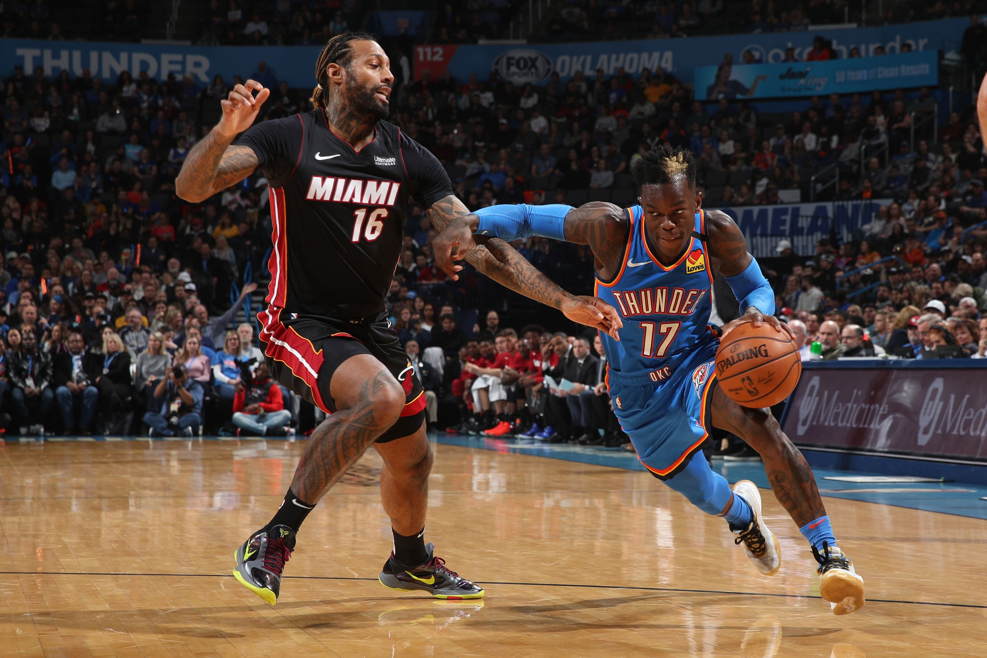 The Miami Heat get a much needed road win in Oklahoma City