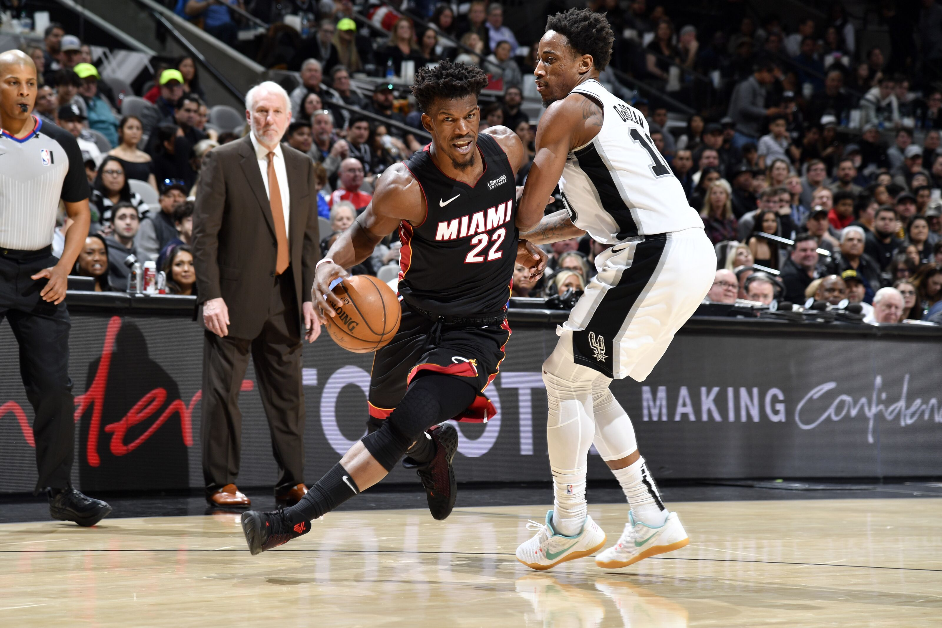 The Miami Heat also lose battle of intensity in loss to San Antonio Spurs