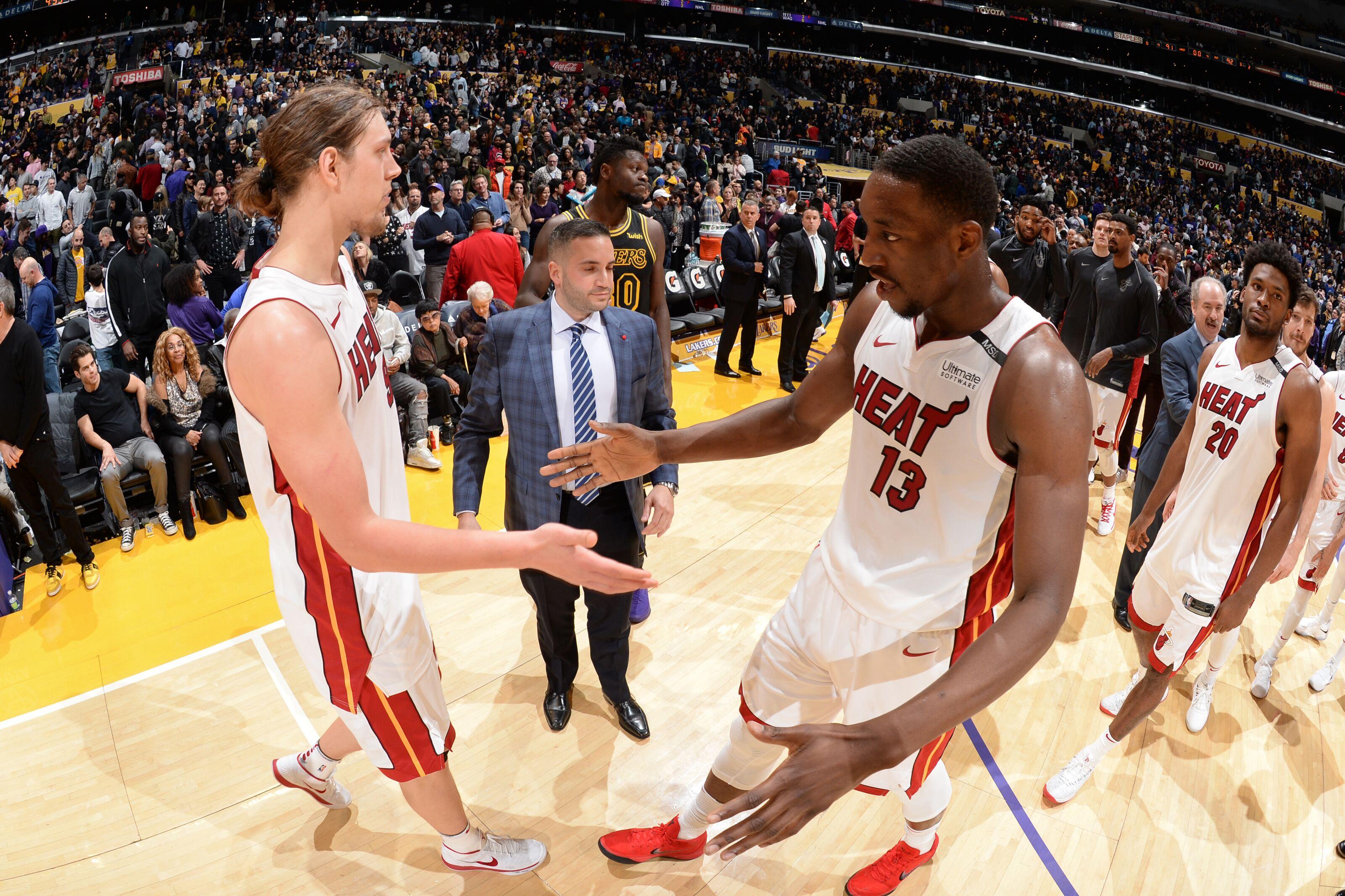 Miami Heat: The collection of big men represent peak versatility