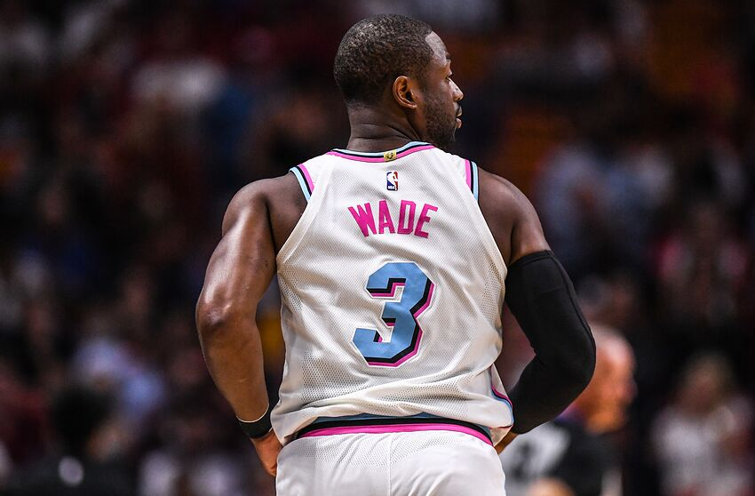 the latest 8901f 885bc Miami Heat: Dwyane Wade not having it with the rumor mill
