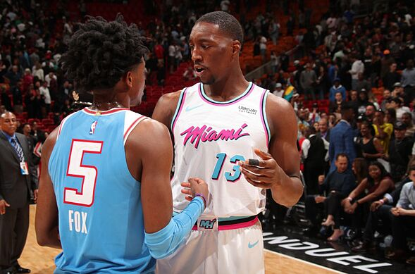 Miami Heat center Bam Adebayo has a bright future ahead of him. cdd71a6ca
