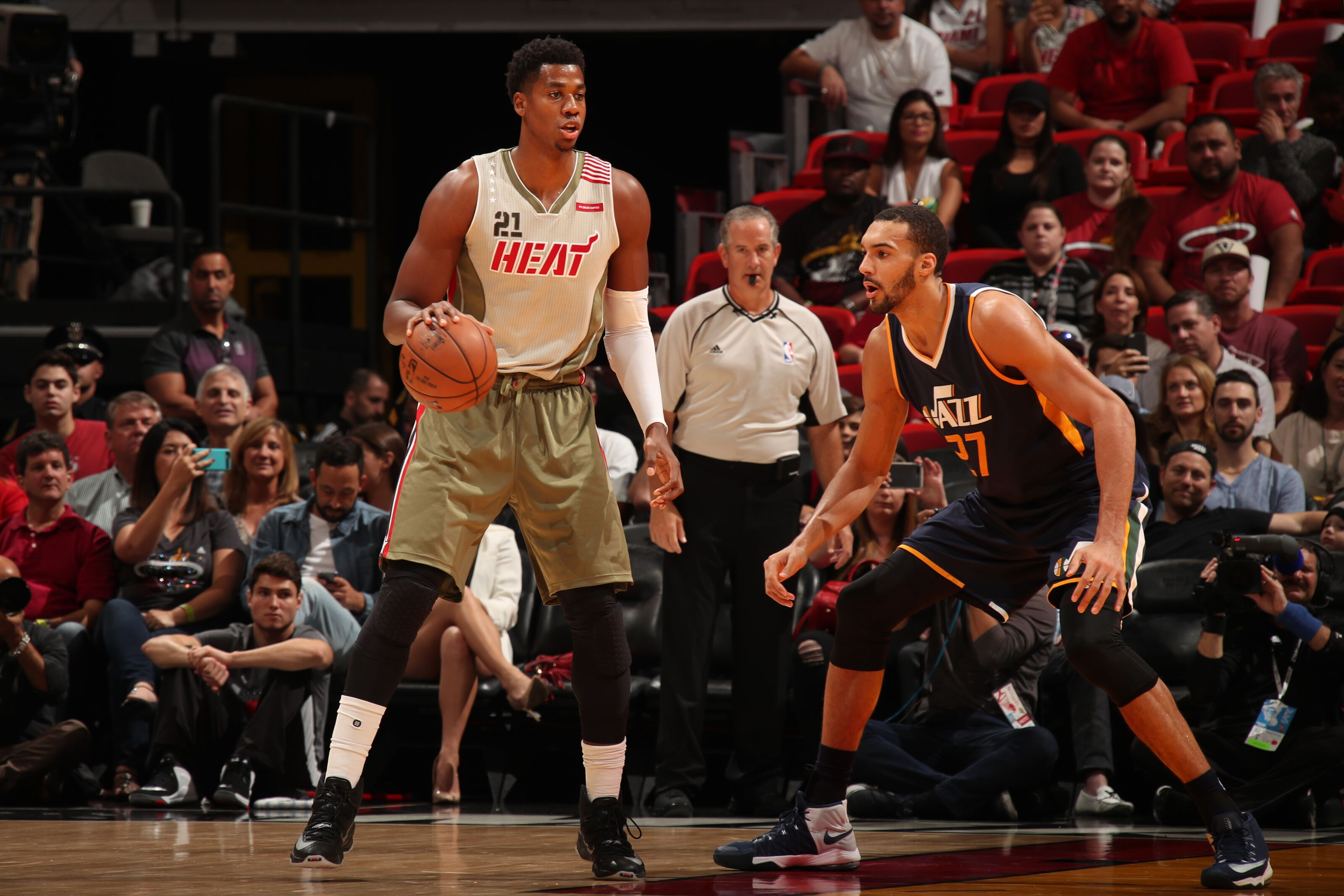 timeless design 8c0ab fe191 Miami Heat  Who should be Hassan Whiteside s inspiration