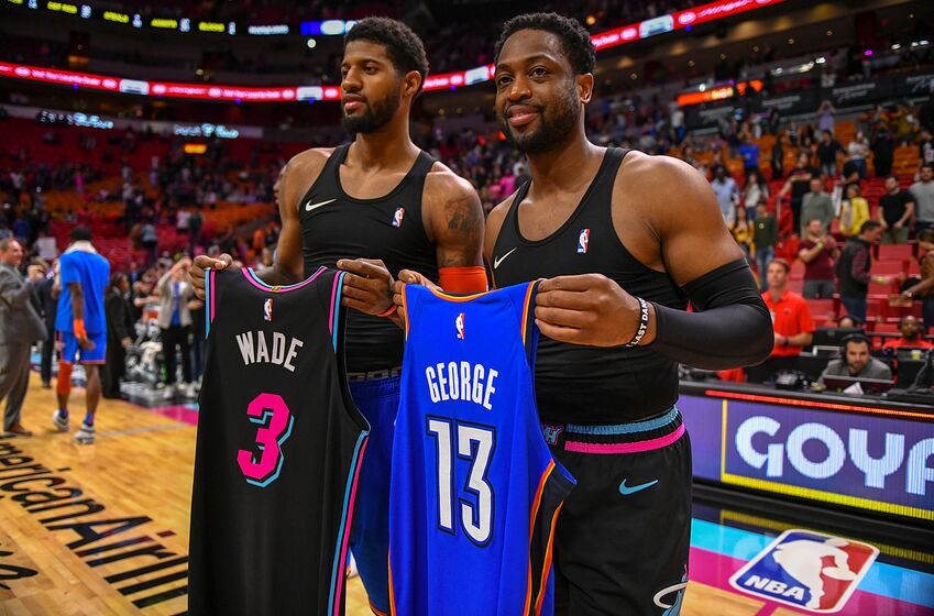 newest 4aa74 3c0cb Miami Heat: Paul George and Russell Westbrook light up South ...