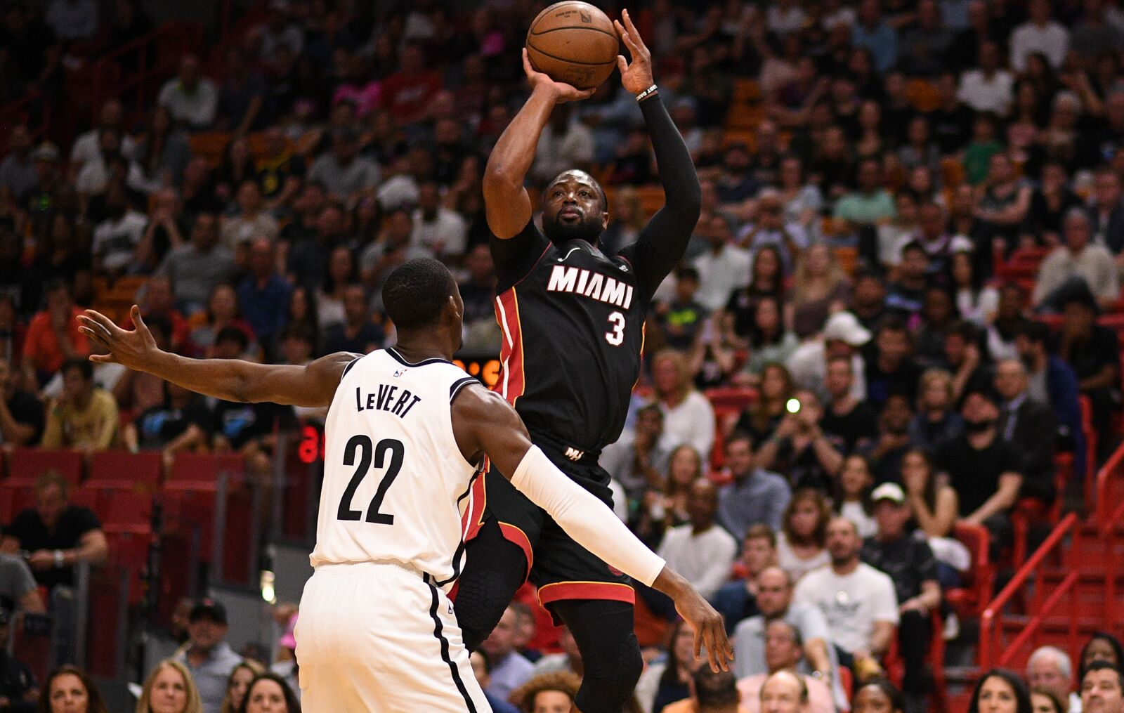 new styles 3baa2 45ed6 Miami Heat: In Dwyane Wade's final game, the Heat face the Nets