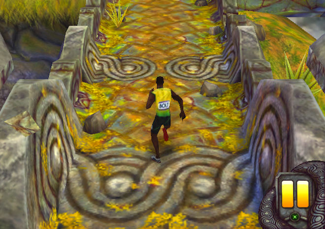 Usain Bolt Gets New Uniform In Temple Run 2