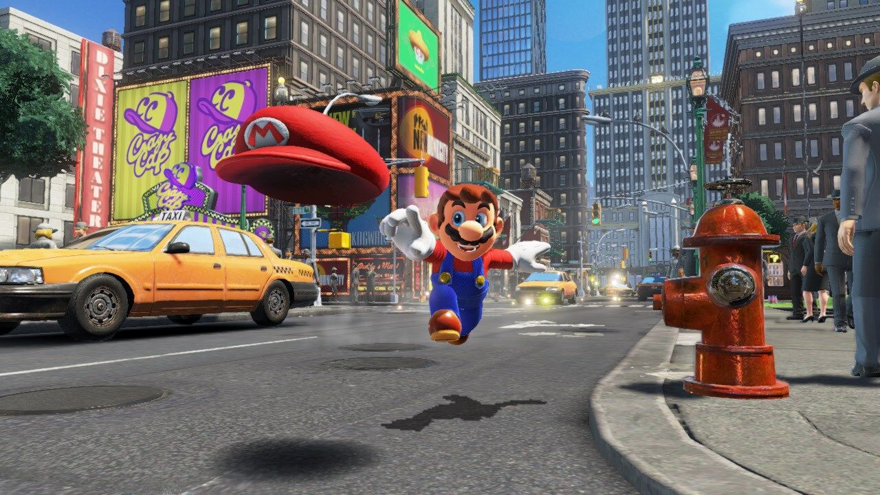 5 moves to master in Super Mario Odyssey
